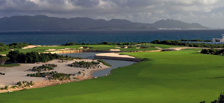 Beautiful Anguilla Golf Green
