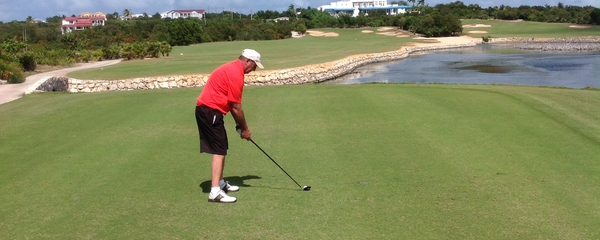 St Maarten Golf with Steve Oostrom, professional golf instructor